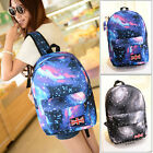 Women Men Canvas Star Unisex Backpack Camping Travel Hiking Bookbag Bag