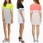Summer Sexy Women's O Neck Loose Slim Cocktail Party Short Dress Skirt Top