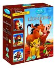 The Lion King Trilogy 1-3 [Blu-ray] 1 2 3 Simbas Pride and Hakuna Matata