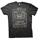 Vintage Aged To Perfection 1945 - Distressed Print - 70th Birthday Gift T-shirt