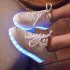 New Womens LED Shiny Light  Stylish Design Trainers Fashion Sneaker Dance Shoes