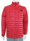 THE NORTH FACE Men ThermoBall Full Zip Jacket M L XL Red Nylon Packable A7ZG NEW