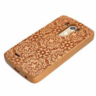 For LG G3 Unique Real Handmade Natural Wood Hard Bamboo Shockproof Protect cover