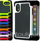 New Hard Back  Case Cover for LG Google Nexus 5 with FREE Screen Protector