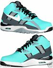 NIKE AIR TRAINER SC HI MENs M LEATHER BASKETBALL TURQUOISE GREY WHITE BLK