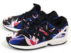 Adidas ZX Flux NPS Unisex Floral Classic Casual Shoes Black/Blue/Yellow B34467