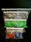 ZIP SEAL BAGS ZIPLOCK AIRPORT TRAVEL CLEAR WHITE TOP PLASTIC 6 SIZES BUY 10-100