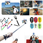 Monopod Selfie Sticks Telescopic & Bluetooth Wireless Remote Mobile Phone Holder