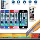 Color Tempered Glass Screen Protector Guard Shield Apple iPhone 6 Plus 5.5