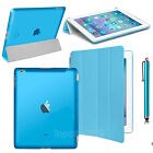 Magnetic Slim Leather Smart Stamd Cover Back Case For Apple iPad Air 2 3 4 Mini