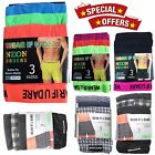 12 PAIRS MENS BUTTON FLY SOFT JERSY BOXER SHORTS UNDERWAER PANTS TRUNKS BRIEFS