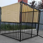 7.5' x 12.5' UV Rated Dog Kennel Sun Block Tops W/Grommets
