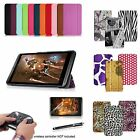 For 2014 NVIDIA Shield 2 8-Inch Slim PU Leather Magnetic Smart Case Stand Cover