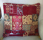 "Turkish Mahlas Ottoman Jacquard Pillow Cover Double Side Zippered 17""x17"",M17"