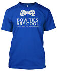 BOW TIES ARE COOL Tshirt Dr Who Inspired Unisex Style T.V Fathers Day Gift