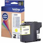 LC223Y Yellow Original Genuine Brother Printer Ink Cartridge LC223