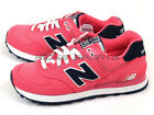 New Balance NB WL574POP B 2015 Classic Casual Lifestyle Shoes Pink/Navy/White