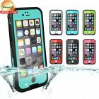 Waterproof Case For iPhone 6 & 6 Plus Shockproof Snowproof Cover Case Skin