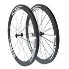 Ship In One Work Day CSC 50mm Clincher Bike Carbon Road Wheels Bicycle Wheelset