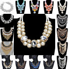 Fashion Women Vintage Necklace Chain Choker Statement Bib Chunky Collar Pendant