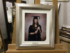 MODERN 49mm SILVER GRADUATION PHOTOGRAPH/PICTURE FRAME