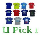 BOYS UNDER ARMOUR SPORTS THEME TEE ATHLETIC T SHIRT ACTIVE KID CHILDRENS CLOTHES