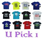 BOYS UNDER ARMOUR SAYING THEME TEE ATHLETIC T SHIRT ACTIVE KID CHILDRENS CLOTHES