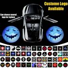 2x Car Door Gobo Cree Led Projector Puddle Step Ghost Shadow Laser Light Logo 3D