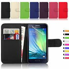 Flip Premium PU Leather Cover Book Card Wallet Stand Case for Samsung Galaxy A3