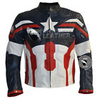 Custom Design Avenger age ultron + winter soldier fully perforated jacket