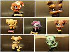 littlest pet shop dogs  7 to choose from