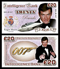 Roger Moore - James Bond Novelty Banknotes £1.79 GBP on eBay