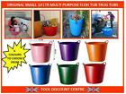 SMALL FLEXIBLE FLEXI TUB TRUG STORAGE GARDEN WASHING FEEDING BUCKET 14 LITRE