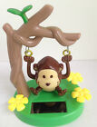 2 Solar Dancing Swinging Monkey Curious George GREAT GIFT NEW