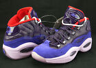 Reebok Question Mid Allen Iverson Purple Ink Fearless Ghost of Christmas V61429