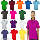 Ladies Polo Shirt Loose Fit Long Plus Size 10 to 28  Unisex Plain Pique T Shirt