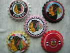 Chicago Blackhawks Scrapbooking Crafts Bottle Caps Set #3 - Badge Reels Magnets $5.99 USD on eBay