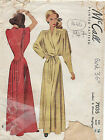 1947 Vintage Sewing Pattern B36 NEGLIGEE (1444)