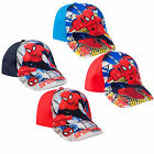 Boys Marvel Caps Kids Spiderman Baseball Sun Summer Caps Hat Age 3-10 Years