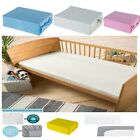 Cot Bed 100% Soft Cotton Jersey Fitted Sheet Toddler Bed Size 140cm x 70cm, NEW