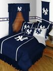 NEW YORK YANKEES RUFFLED BED SHIRT TWIN, FULL, AND QUEEN BED SIZES ON SALE!