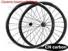 Alloy Brake surface 38mm Clincher carbon bike wheels R13 +424 1520g only