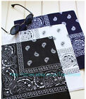 Square Paisley Bandanas Hair Head Band Neck Wrap Scarf Wristband Hat Cap
