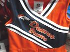 NFL 2017 NWT Licensed Denver Broncos GIRLS Cheerleader Uniform & Hair bow clip on eBay
