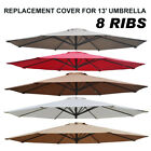 13ft 8-Rib Patio Umbrella Cover Canopy Replacement Top Outdoor
