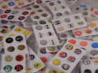 6 HOME BUTTON STICKERS FOR APPLE IPHONE 4 4S 5 5C & IPAD IPOD £0.99 GBP
