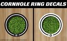Brooklyn Nets Cornhole Ring Bag Toss Cast Vinyl Full Color HD Hole Decals!