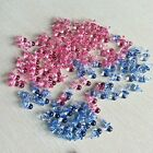 100 Pcs Mini Pacifiers Pink Blue Boy Girl Baby Shower Decor Party Decorations