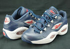 Reebok Question Low Allen Iverson Georgetown Navy Steel Red Silver V53802