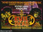 The Evil Dead 1981 Film Canvas Wall Art Movie Poster Print Bruce Campbell Zombie